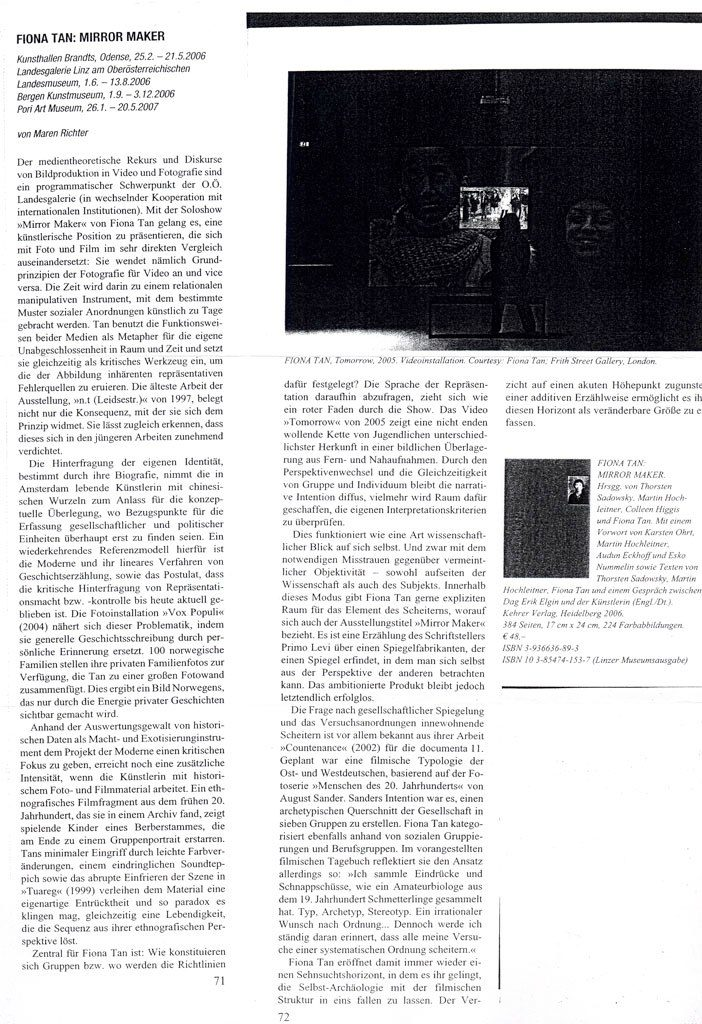Camera Austria (Publications)