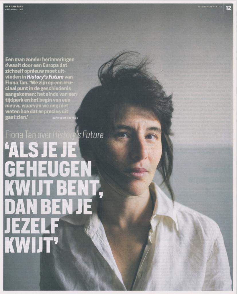 Filmkrant, Interview, Dutch (Publications)