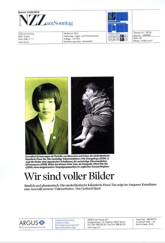 NZZ am Sonntag (Publications)