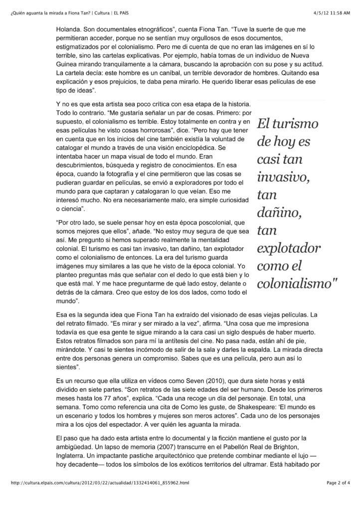 El Pais, Cultura (Publications)
