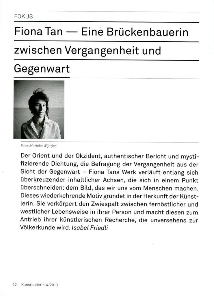Kunstbulletin, Fokus (Publications)