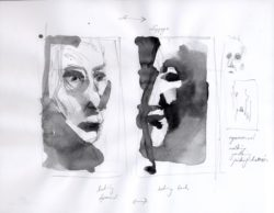 Rise and Fall, sketches (Works)