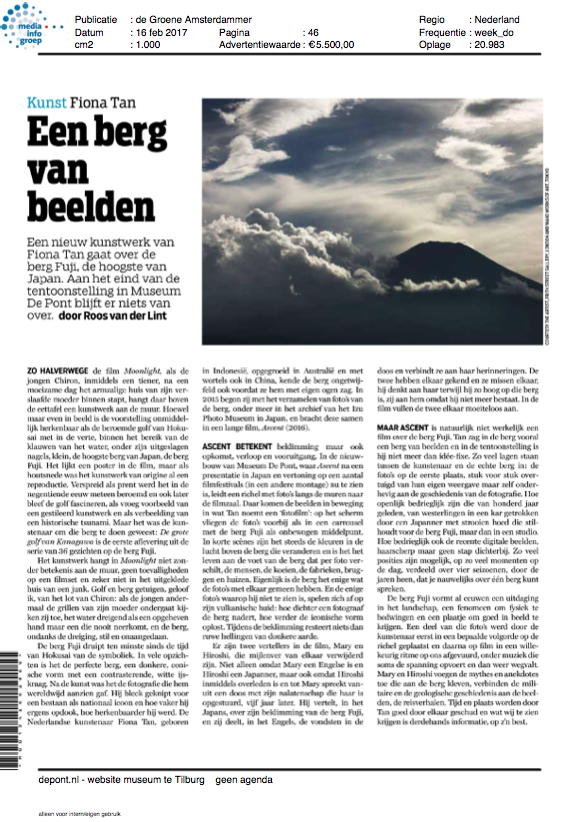 de Groene Amsterdammer (Publications)