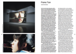 Expanded Cinema: Fiona Tan (Publications)