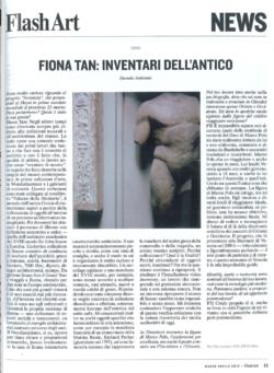Flash Art, MAXXI (Publications)