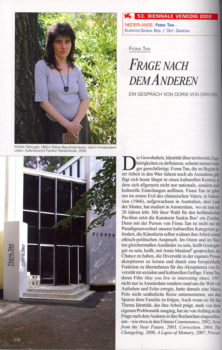Kunstforum, feature (Publications)