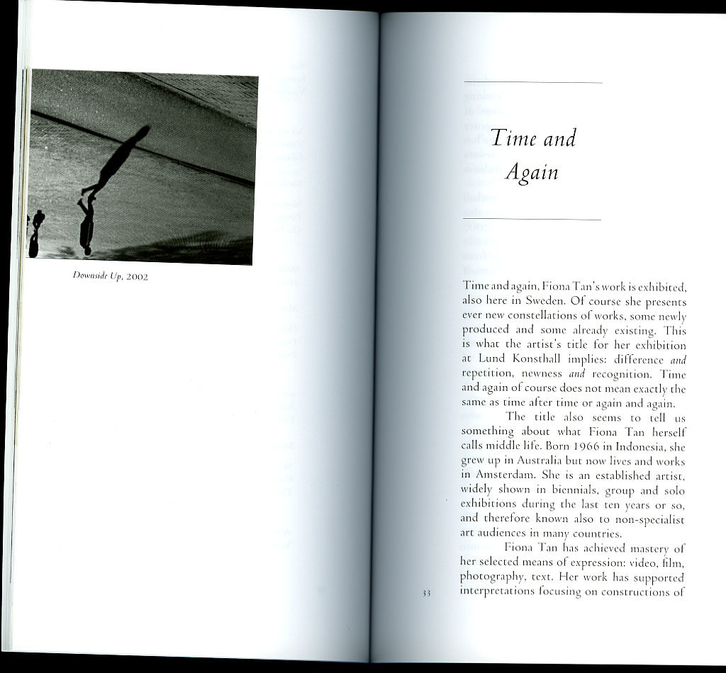 Time and Again (Publications)