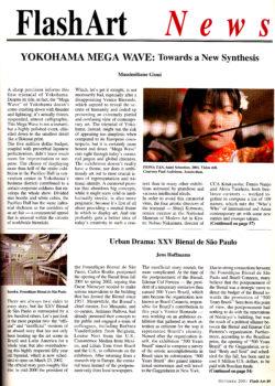 Flash Art, Yokohama Triennale (Publications)