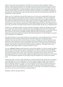 TwitchFilm, Review (Publications)