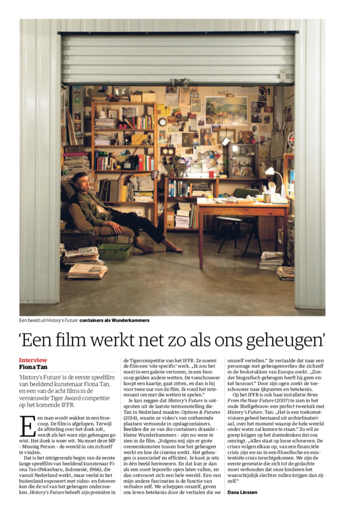 NRC Handelsblad, History's Future (Publications)