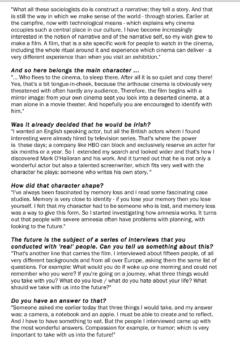 Filmkrant, Interview (Publications)