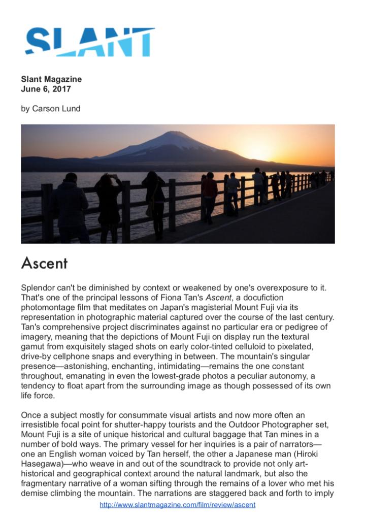 Slant Magazine (Publications)
