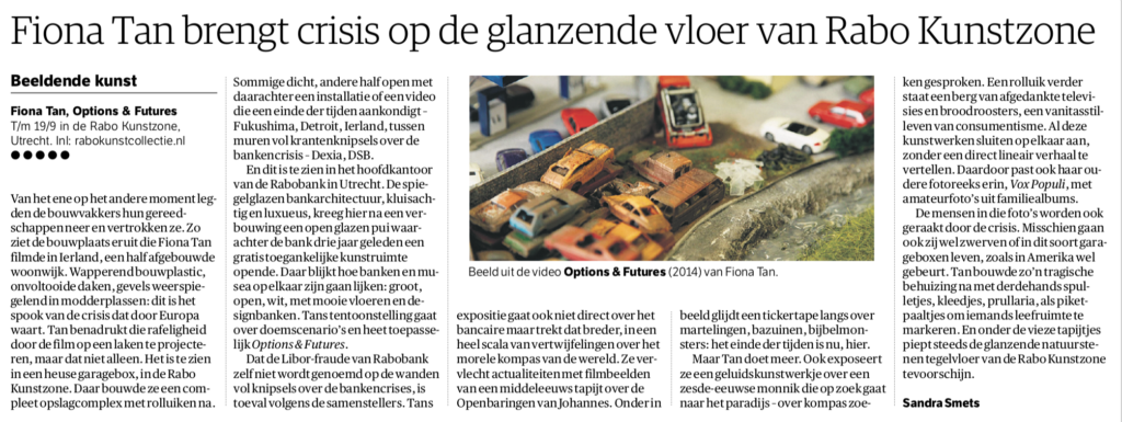 NRC Handelsblad, Options & Futures (Publications)