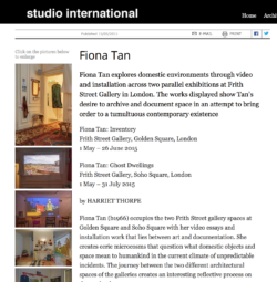 Studio International (Publications)