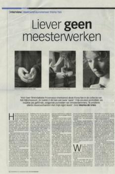 Volkskrant, 2008 (Publications)