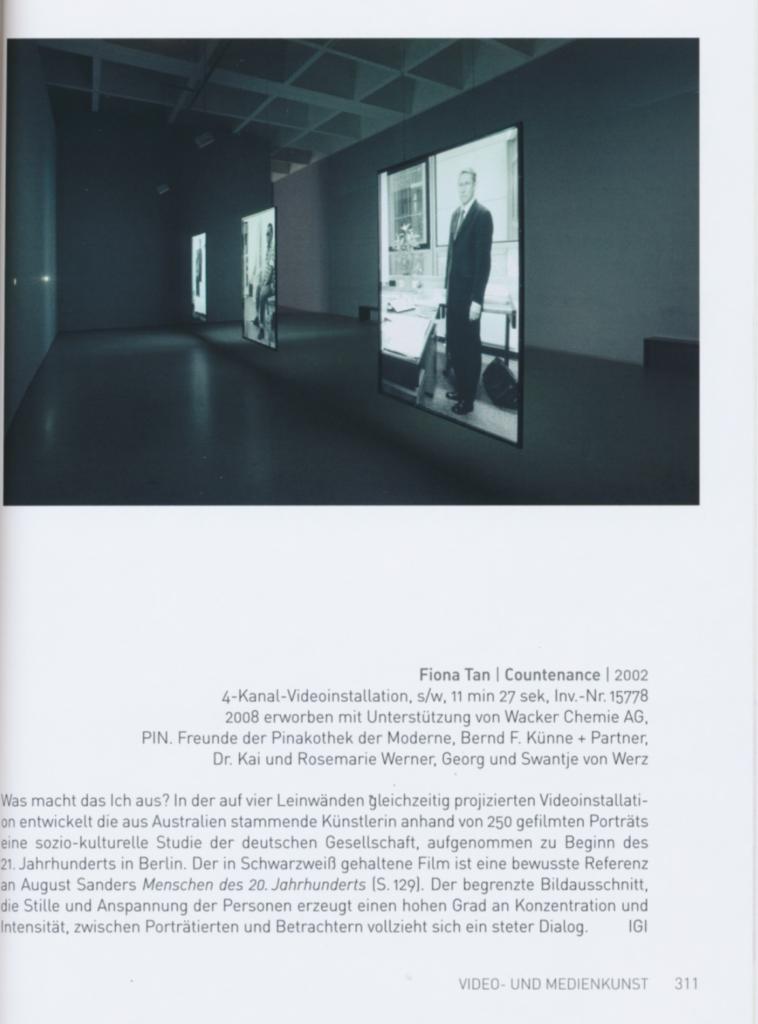 Pinakothek Der Moderne, Sammlung Moderne Kunst (Publications)