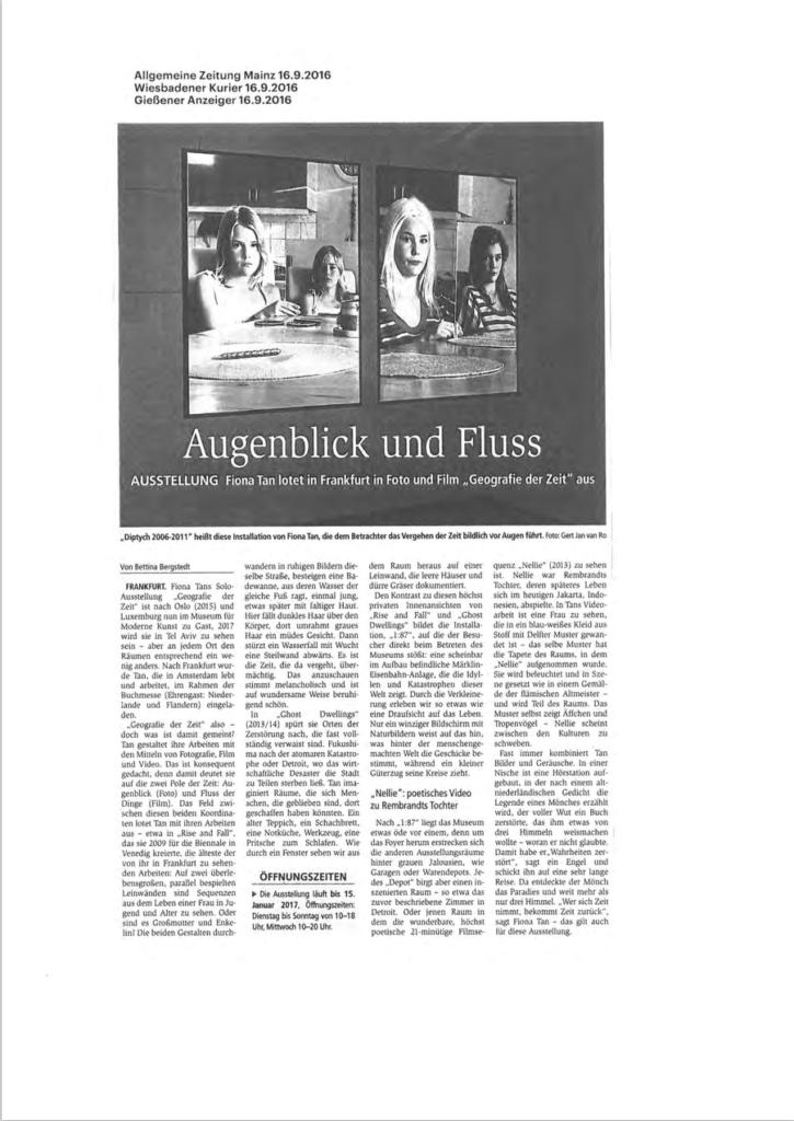 Allgemeine Zeitung Mainz (Publications)