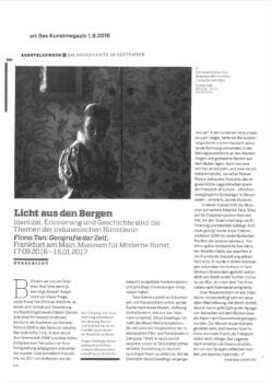Art Das Kunstmagazin (Publications)