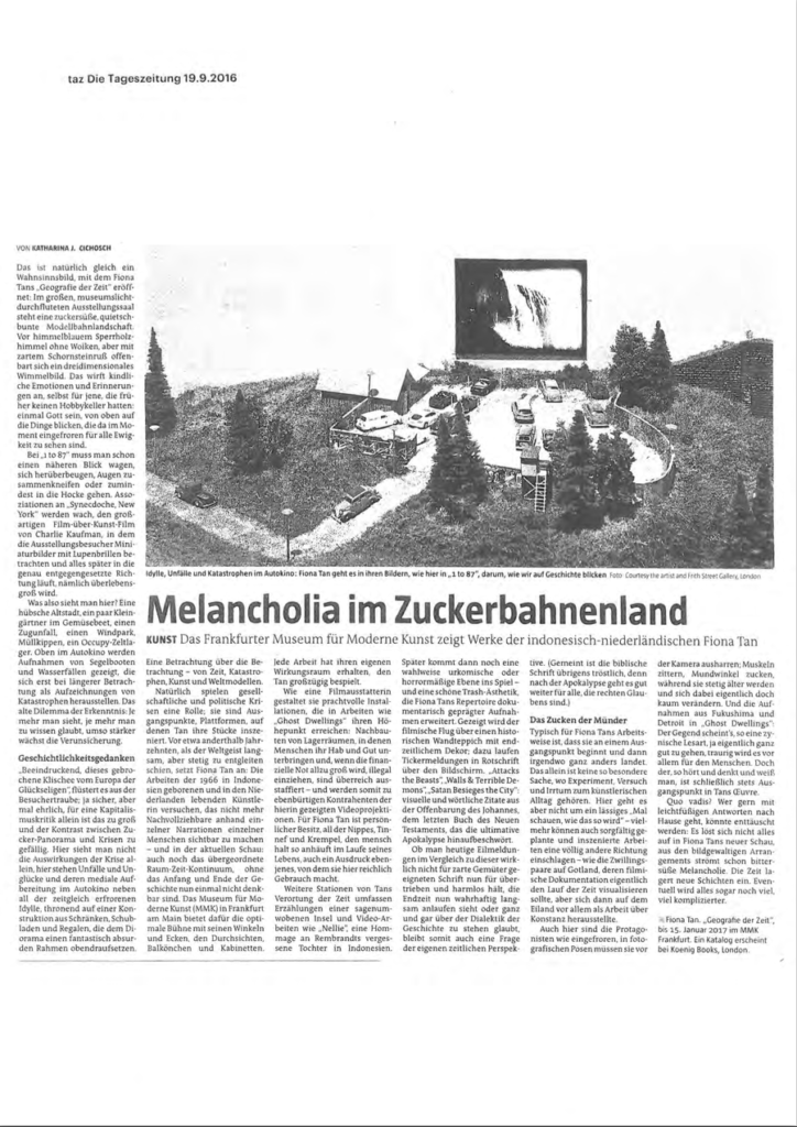 Die Tageszeitung (Publications)