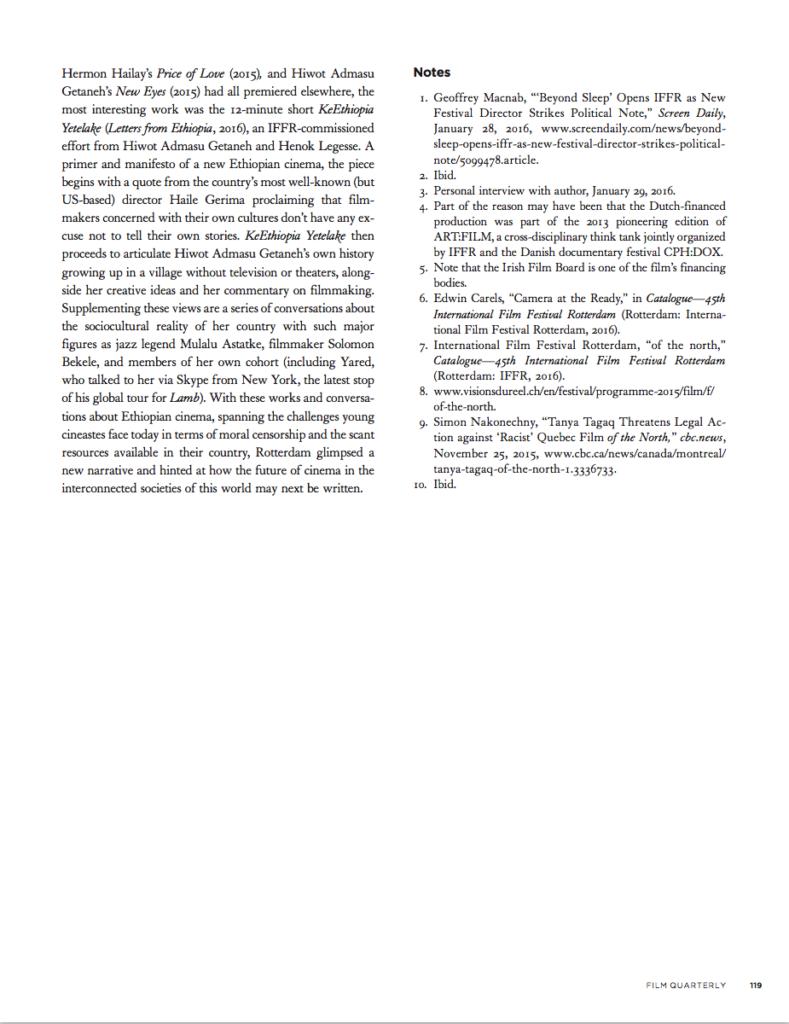Film Quarterly, Summer (Publications)