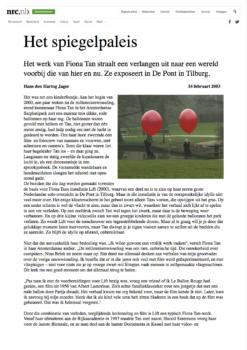 NRC Handelsblad, De Pont (Publications)