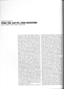 Carte Blanche (Publications)