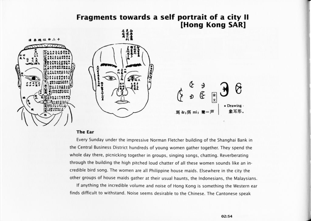 Fragments towards a selfportrait of a city II (Publications)