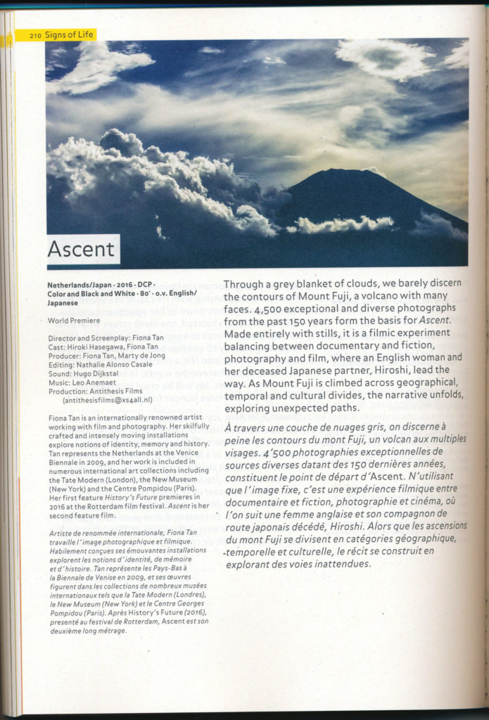 Ascent, Locarno (Publications)