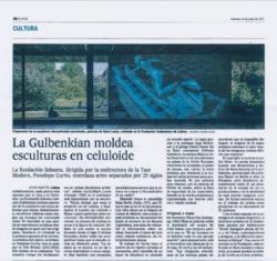 El Pais, La Gulbenkian (Publications)