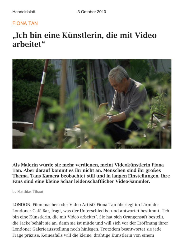 Handelsblatt (Publications)