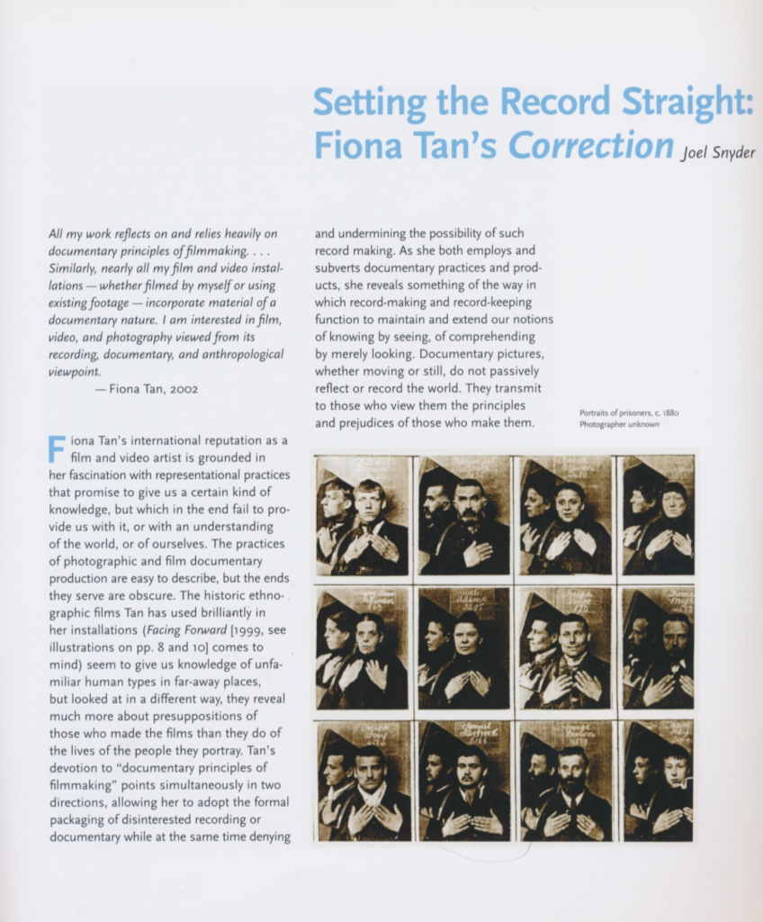 Setting the Record Straight (Publications)