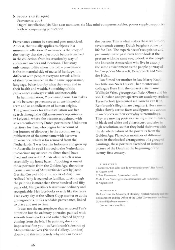 Rijksmuseum Bulletin volume 61 (Publications)