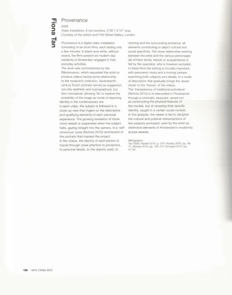 Arte torna arte (Publications)