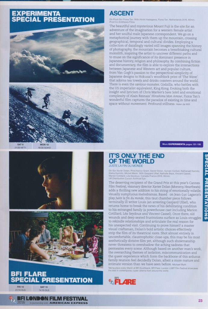 London Film Festival (Publications)
