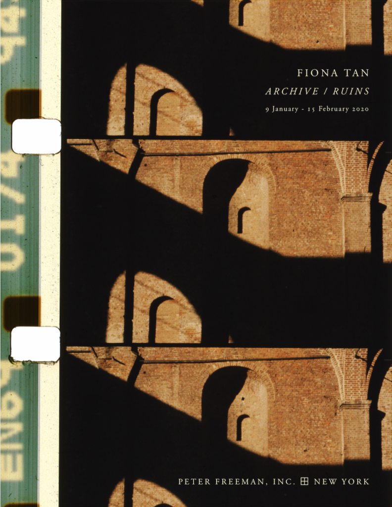 Fiona Tan – Archive / Ruins