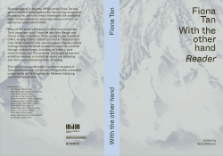 With the other hand – Reader (Publications)